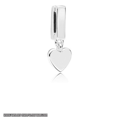 Pandora Reflexions Floating Heart Clip Charm Cheap Sale