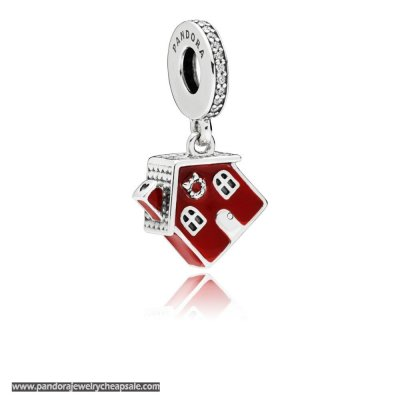 Pandora Cosy Christmas House Hanging Charm Cheap Sale