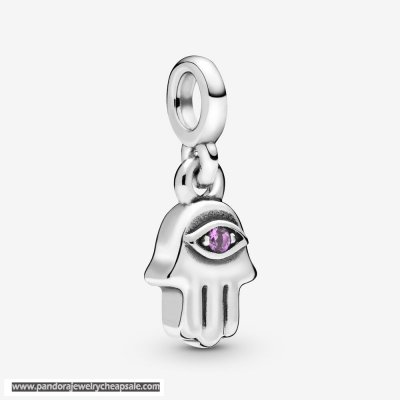 Pandora My Hamsa Hand Dangle Charm Cheap Sale