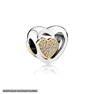 Pandora Wedding Anniversary Charms Joined Together Charm Clear Cz Cheap Sale
