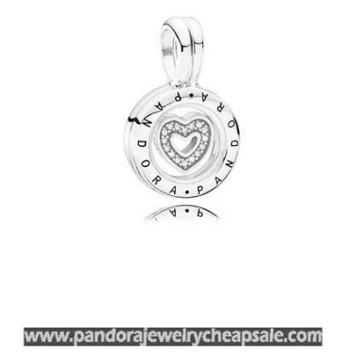 Pandora Lockets Floating Locket Sapphire Crystal Glass Clear Cz Cheap Sale