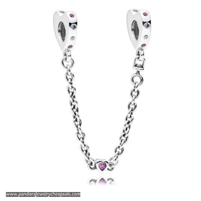 Pandora Bright Hearts Safety Chain Cheap Sale