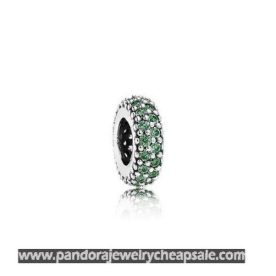 Pandora Spacers Charms Inspiration Within Spacer Green Cz Cheap Sale