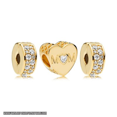 Pandora Shine Mother Heart Charm Pack Cheap Sale