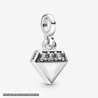 Pandora My Bright Diamond Dangle Charm Cheap Sale