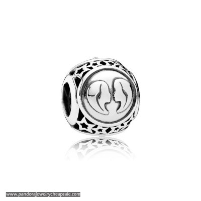 Pandora Zodiac Celestial Charms Gemini Star Sign Charm Cheap Sale