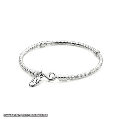 Pandora Bracelets Classic Silver Charm Bracelet With Lobster Clasp Cheap Sale