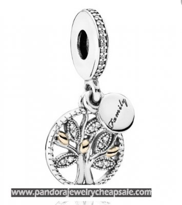 Pandora Family Charms Family Heritage Pendant Charm Clear Cz Cheap Sale