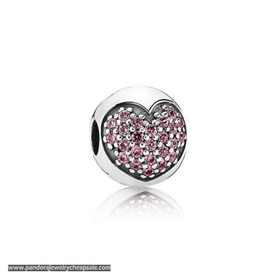 Pandora Clips Charms Love Of My Life Clip Fancy Pink Cz Cheap Sale