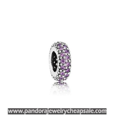 Pandora Spacers Charms Inspiration Within Spacer Purple Cz Cheap Sale