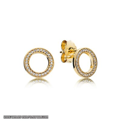 Pandora Shine Forever Earring Studs Cheap Sale