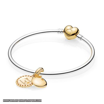 Pandora Shine You Are My Sunshine Bangle Set Cheap Sale