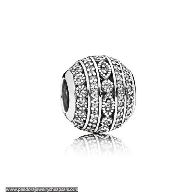 Pandora Contemporary Charms Glittering Shapes Charm Clear Cz Cheap Sale
