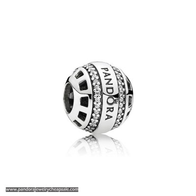 Pandora Contemporary Charms Forever Charm Clear Cz Cheap Sale
