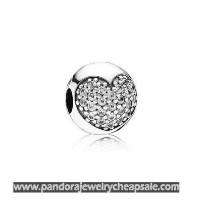 Pandora Clips Charms Love Of My Life Clip Clear Cz Cheap Sale