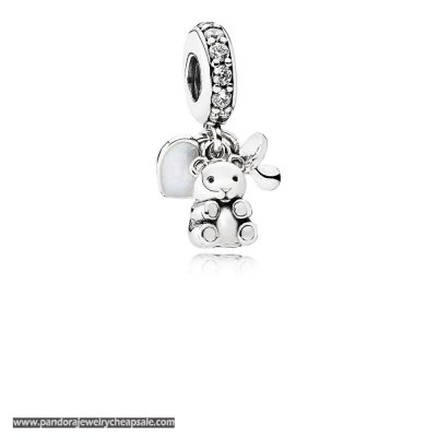 Pandora Family Charms Baby Treasures Pendant Charm Clear Cz Cheap Sale