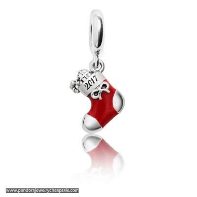 Pandora Winter Collection 2017 Engraved Christmas Stocking Limited Edition Charm Cheap Sale