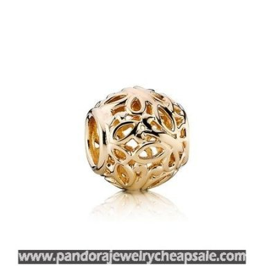 Pandora Collections Butterfly Garden Charm 14K Gold Cheap Sale