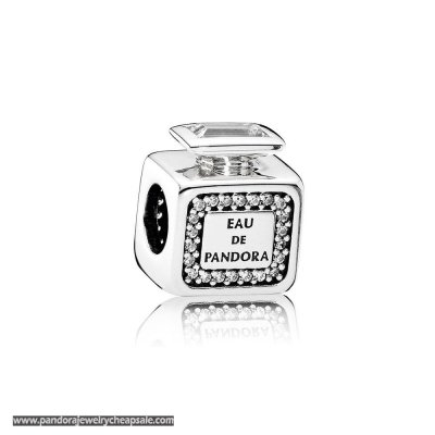 Pandora Passions Charms Chic Glamour Signature Scent Clear Cz Cheap Sale
