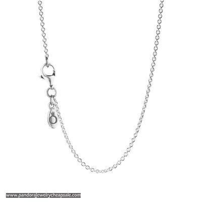 Pandora Chains Sterling Silver Chain Necklace Adjustable Cheap Sale