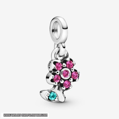Pandora My Pretty Flower Dangle Charm Cheap Sale