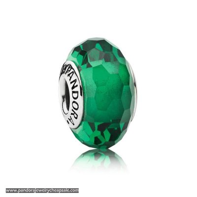 Pandora St. Patrick'S Day Good Luck Charms Fascinating Green Charm Murano Glass Cheap Sale