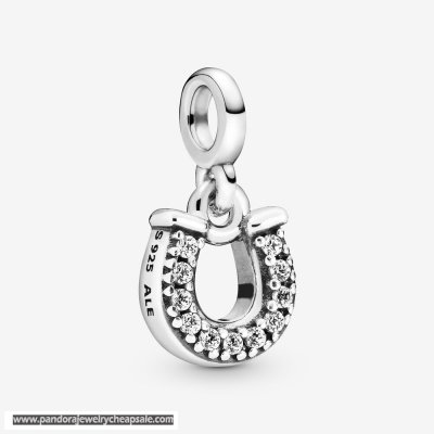 Pandora My Lucky Horseshoe Dangle Charm Cheap Sale