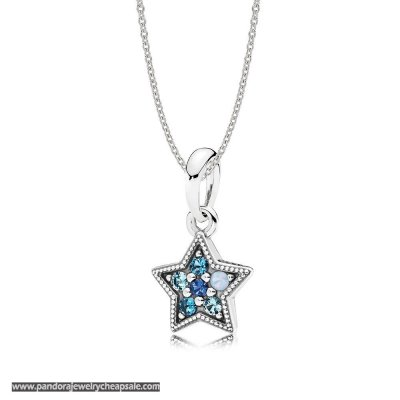 Pandora Bright Star Necklace Gift Set Cheap Sale