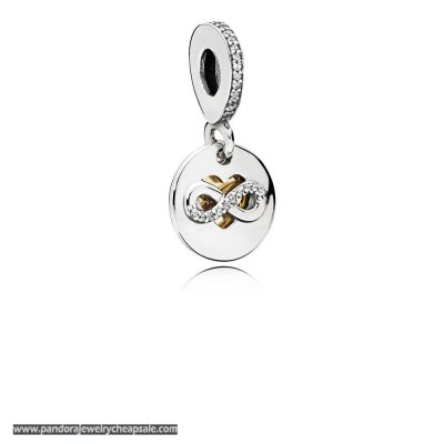 Pandora Symbols Of Love Charms Heart Of Infinity Pendant Charm Clear Cz Cheap Sale