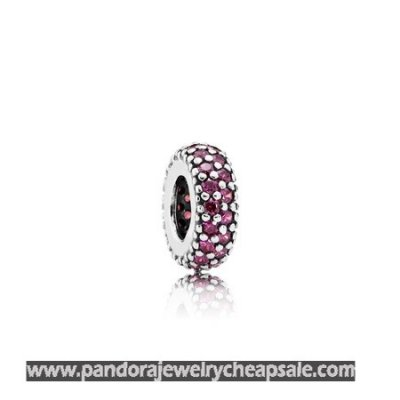 Pandora Spacers Charms Inspiration Within Spacer Red Cz Cheap Sale