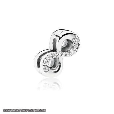 Pandora Reflexions Sparkling Infinity Clip Charm Cheap Sale