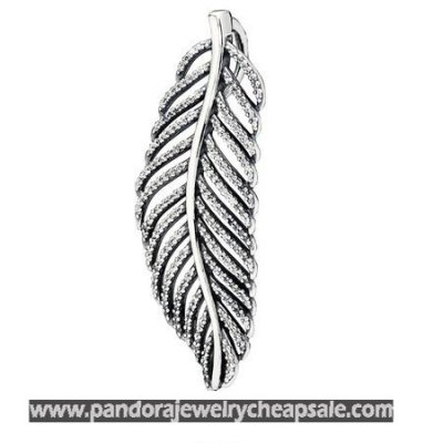 Pandora Pendants Light As A Feather Pendant Clear Cz Cheap Sale
