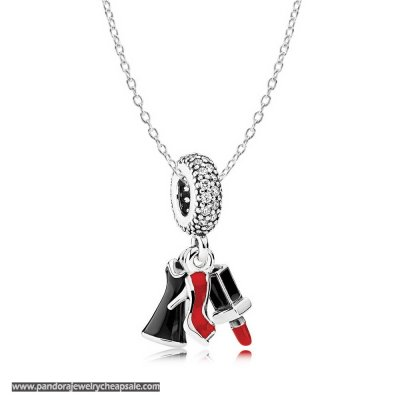Pandora Girls Night Out Necklace Cheap Sale