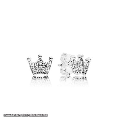 Pandora Enchanted Crown Earring Studs Cheap Sale