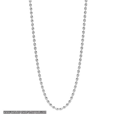 Pandora Chains Sterling Silver Ball Chain Necklace Cheap Sale
