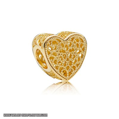 Pandora Shine Filled With Romance Heart Charm Cheap Sale