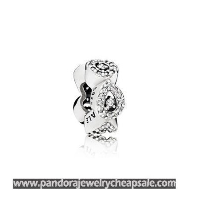 Pandora Passions Charms Chic Glamour Cascading Glamour Spacer Clear Cz Cheap Sale