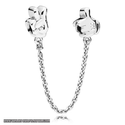 Pandora Disney Mickey Gestures Safety Chain Cheap Sale