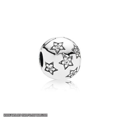 Pandora Clips Charms Twinkle Twinkle Clip Clear Cz Cheap Sale
