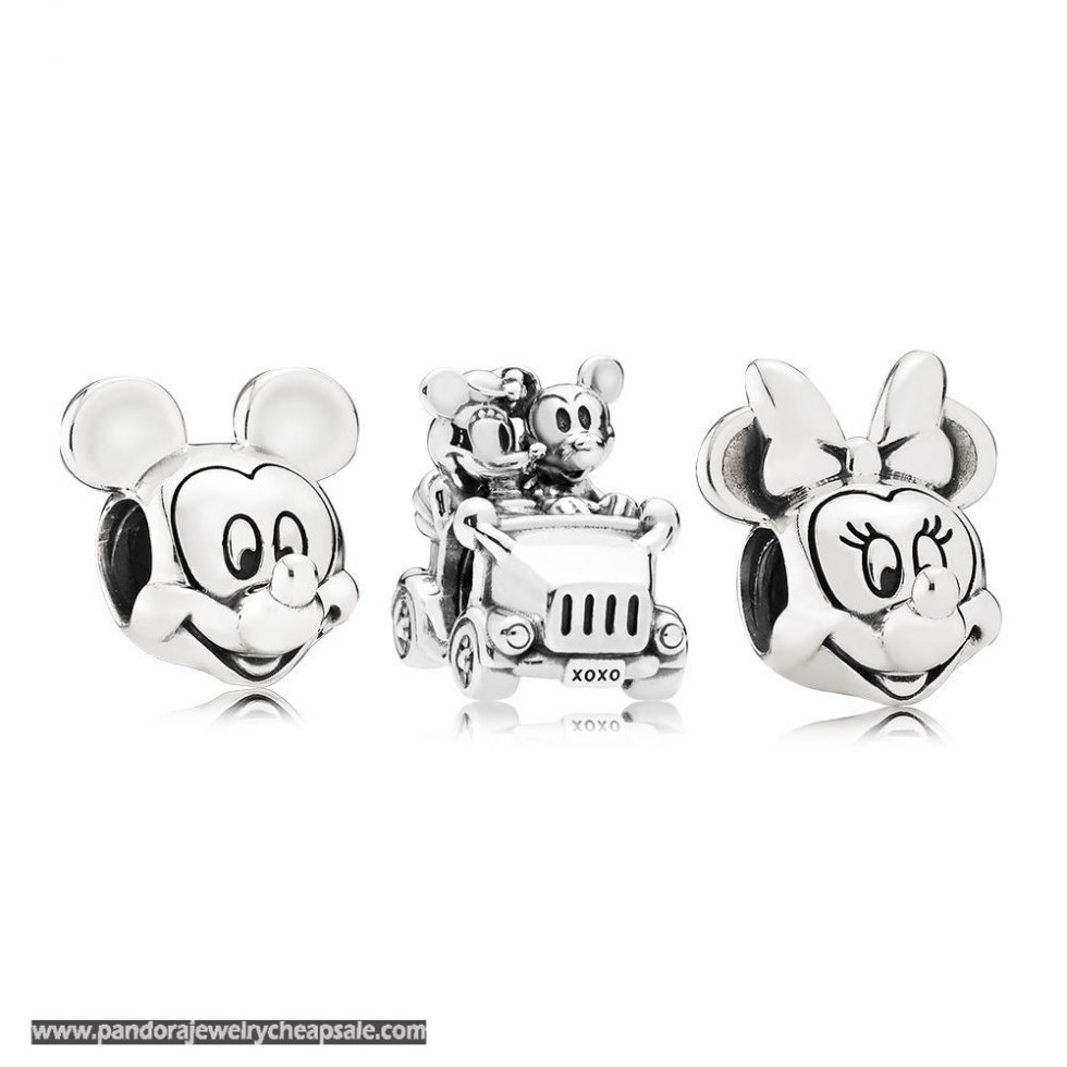 Pandora Disney Mickey And Minnie Charm Pack Cheap Sale