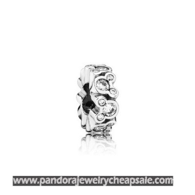 Pandora Spacers Charms Disney Mickey All Around Spacer Clear Cz Cheap Sale