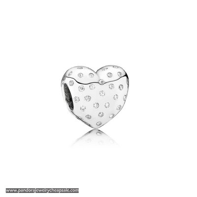Pandora Valentine'S Day Charms Sparkle Of Love Clear Cz Cheap Sale