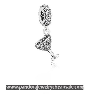Pandora Passions Charms Chic Glamour Night Out Pendant Charm Clear Cz Cheap Sale