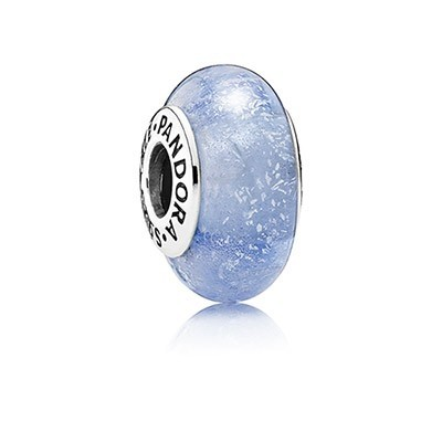 Pandora Disney Charms Sney Cinderella'S Signature Color Charm Murano Glass Cheap Sale