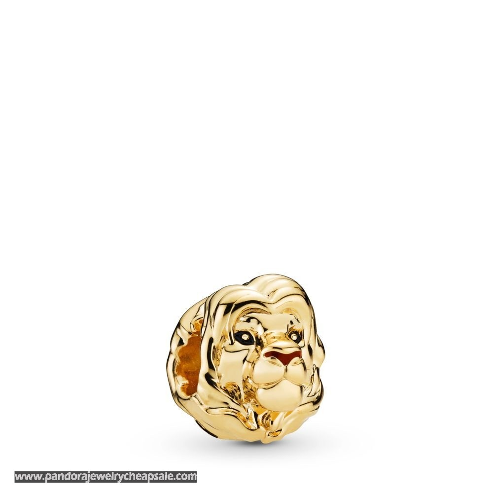 Pandora Disney Shine Simba Charm Cheap Sale