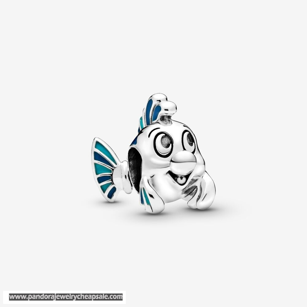 Pandora Disney The Little Mermaid Flounder Charm Cheap Sale